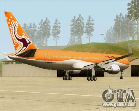 Boeing 767-300ER Australian Airlines for GTA San Andreas back left view