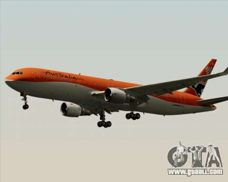 Boeing 767-300ER Australian Airlines for GTA San Andreas back view