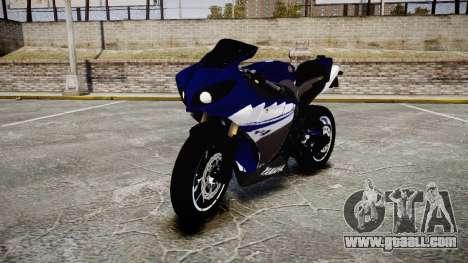 Yamaha YZF-R1 2009 for GTA 4