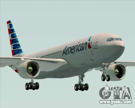 Airbus A330-200 American Airlines for GTA San Andreas