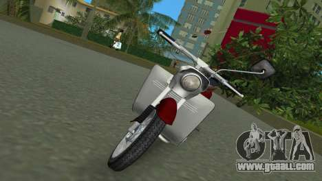 Jawa Type 20 Moped for GTA Vice City left view