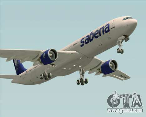 Airbus A330-300 Sabena for GTA San Andreas engine