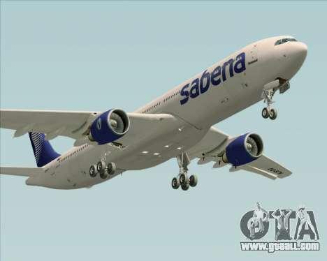 Airbus A330-300 Sabena for GTA San Andreas engine