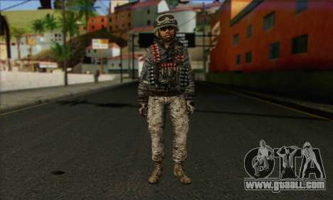 Task Force 141 (CoD: MW 2) Skin 4 for GTA San Andreas