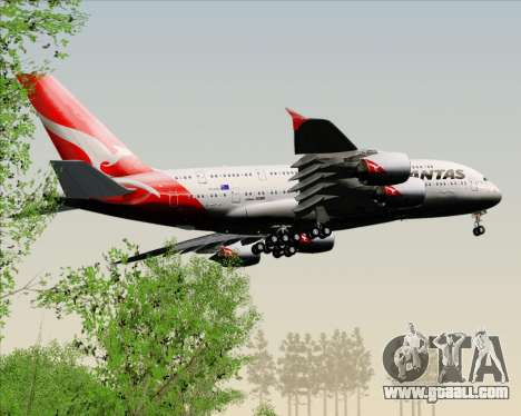 Airbus A380-841 Qantas for GTA San Andreas interior