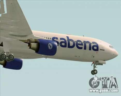 Airbus A330-300 Sabena for GTA San Andreas upper view