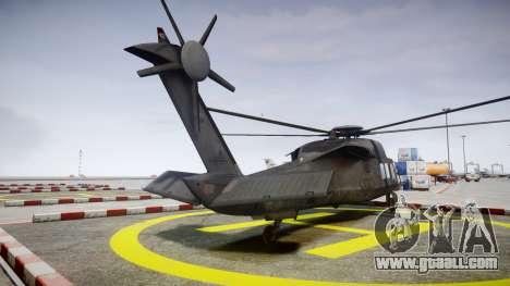 Sikorsky MH-X Silent Hawk [EPM] v2.0 for GTA 4 back left view