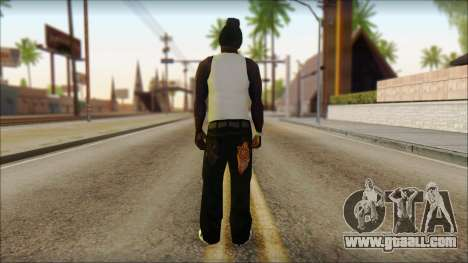 Afro - Seville Playaz Settlement Skin v6 for GTA San Andreas second screenshot