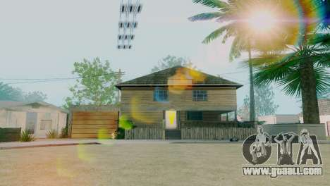 New textures houses on grove street for GTA San Andreas second screenshot