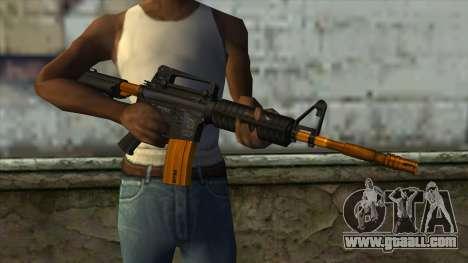 Nitro M4 for GTA San Andreas third screenshot