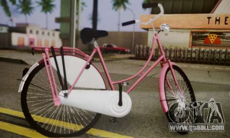 Amsterdam Bike for GTA San Andreas left view