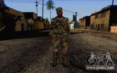 California National Guard Skin 3 for GTA San Andreas