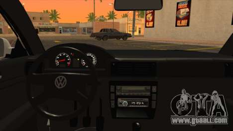 Volkswagen Passat B5 for GTA San Andreas back left view