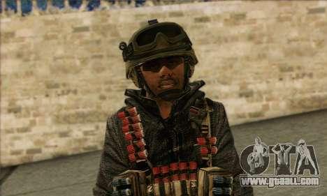 Task Force 141 (CoD: MW 2) Skin 16 for GTA San Andreas third screenshot