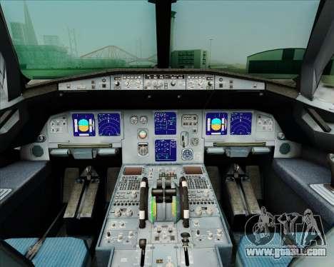 Airbus A321-231 Spanair for GTA San Andreas interior