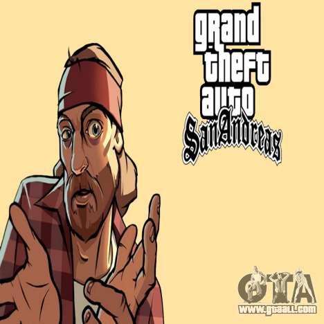 HD loading screen and menu for GTA San Andreas