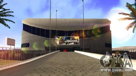 HD textures stadium in Las Venturas for GTA San Andreas fifth screenshot