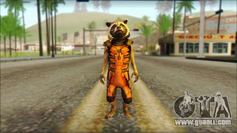 Guardians of the Galaxy Rocket Raccoon v2 for GTA San Andreas