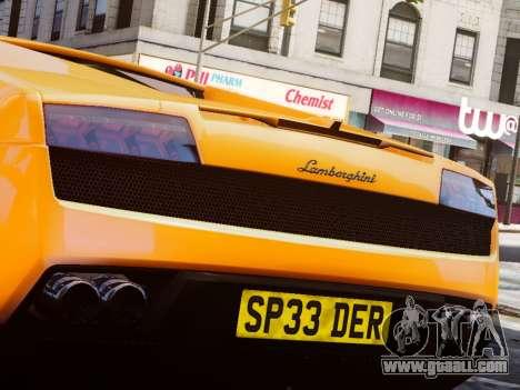 Lamborghini Gallardo LP560-4 for GTA 4 right view