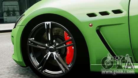 Maserati Gran Turismo MC Stradale 2014 for GTA 4 back left view
