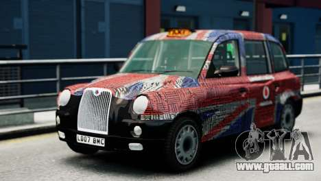 London Taxi Cab v2 for GTA 4