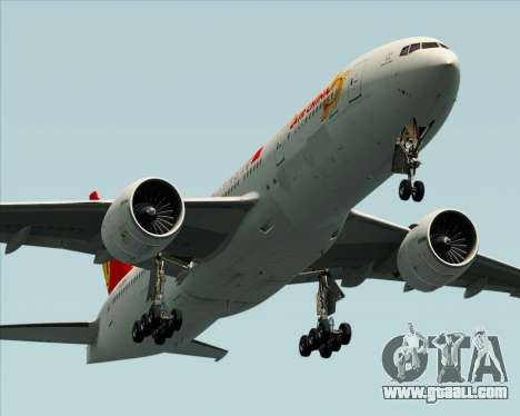Boeing 777-200ER Air China for GTA San Andreas wheels