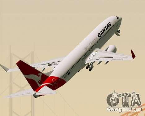 Boeing 737-838 Qantas for GTA San Andreas