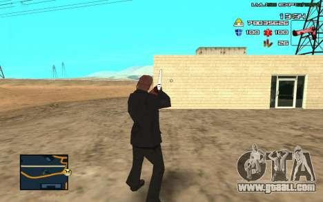 C-HUD by SampHack v.11 for GTA San Andreas third screenshot