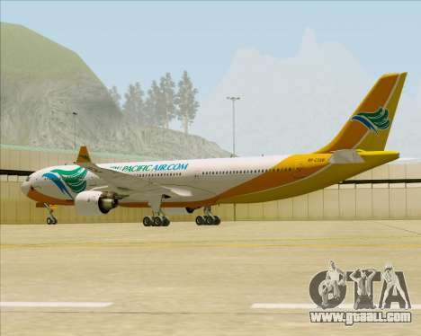 Airbus A330-300 Cebu Pacific Air for GTA San Andreas back view
