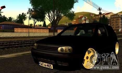 Volkswagen Golf IV for GTA San Andreas