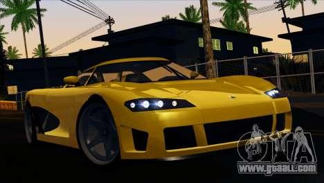 GTA 5 Entity XF for GTA San Andreas