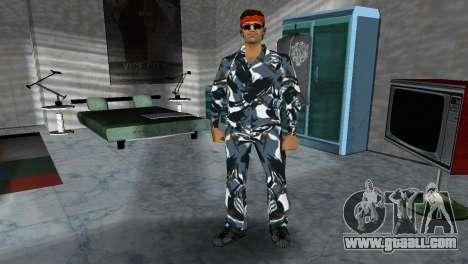 Camo Skin 17 for GTA Vice City third screenshot