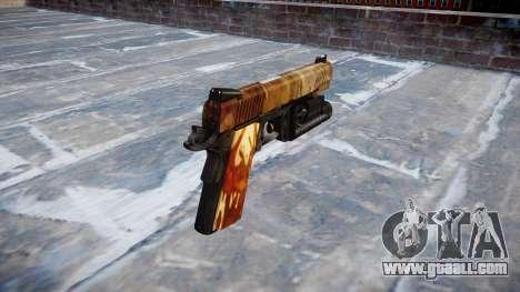 Gun Kimber 1911 Elite for GTA 4 second screenshot