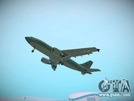 Canadian Forces Airbus CC150 Polaris for GTA San Andreas interior