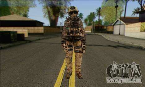 Task Force 141 (CoD: MW 2) Skin 13 for GTA San Andreas