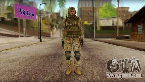 USA Soldier v2 for GTA San Andreas