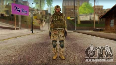 USA Soldier v2 for GTA San Andreas