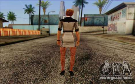 Tracy from Batman Arkham Origins for GTA San Andreas second screenshot