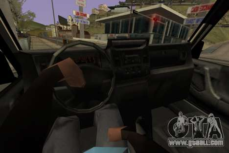 Benefactor Dubsta 6x6 for GTA San Andreas back left view