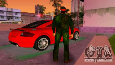 Camo Skin 14 for GTA Vice City third screenshot