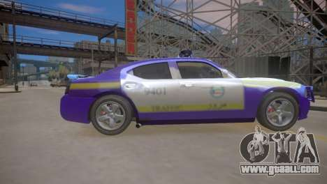 Dodge Charger Kuwait Police 2006 for GTA 4 inner view