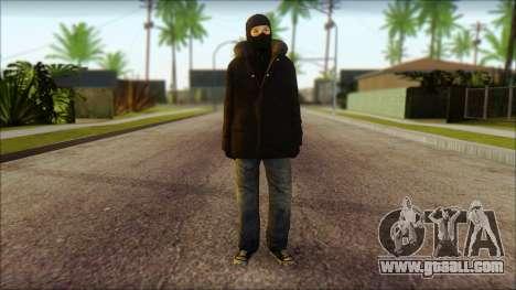 Vandal Euromaidan Style Dirty for GTA San Andreas