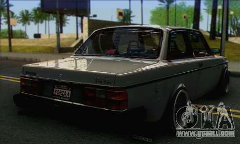 Volvo 242 Stance Works for GTA San Andreas left view