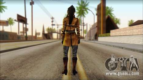 Tomb Raider Skin 2 2013 for GTA San Andreas second screenshot