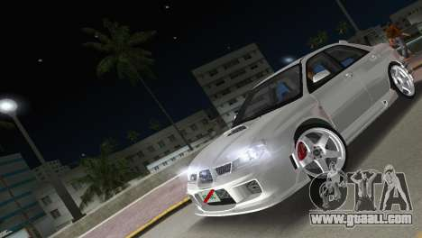 Subaru Impreza WRX STI 2006 Type 3 for GTA Vice City inner view