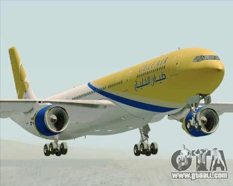 Airbus A330-300 Gulf Air for GTA San Andreas