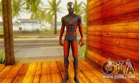 Skin The Amazing Spider Man 2 - DLC Anti-Electro for GTA San Andreas third screenshot