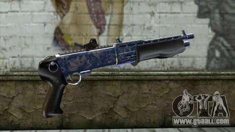 Graffiti Shotgun v2 for GTA San Andreas second screenshot