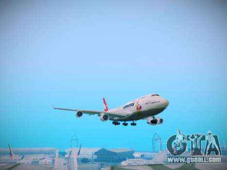 Boeing 747-438 Qantas Boxing Kangaroo for GTA San Andreas