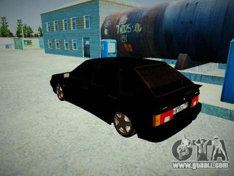 VAZ 2114 for GTA San Andreas back left view